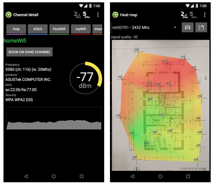 Wifi Analyzer app review
