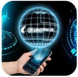 3D Next Tech Theme Launcher logo