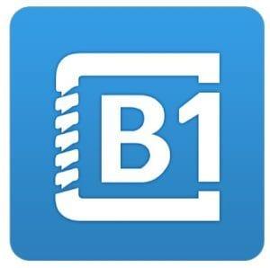 B1 Archiver zip rar unzip logo