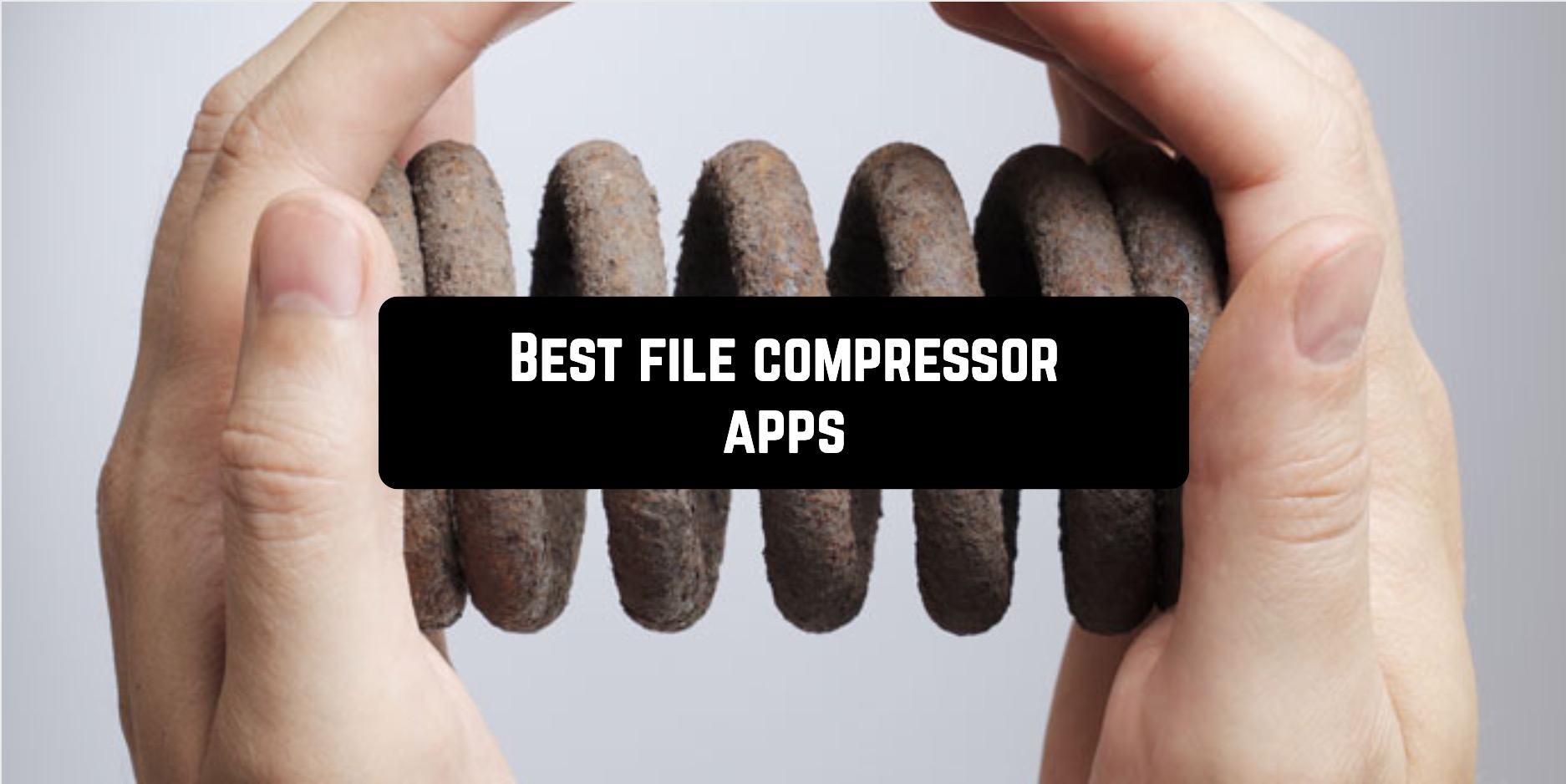 Best file compressor applications