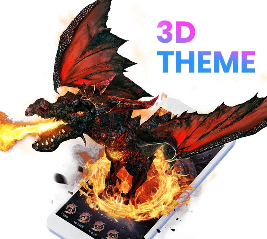 CM Launcher 3D app