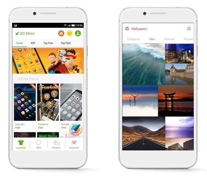 GO Launcher app