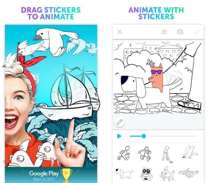 PicsArt Animator app