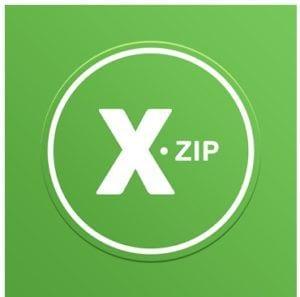 XZip - zip unzip unrar utility logo