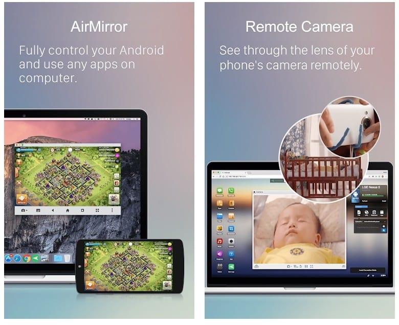 AirDroid app