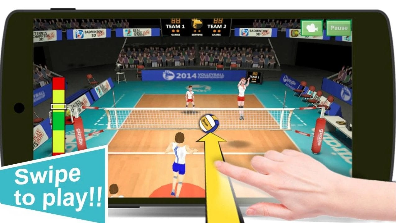 Volleyball Champions 3D app