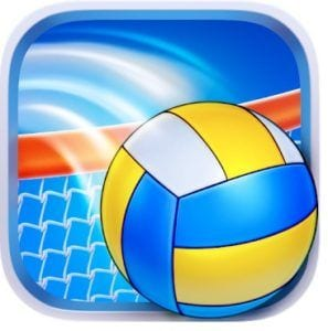 Volleyball Champions 3D logo