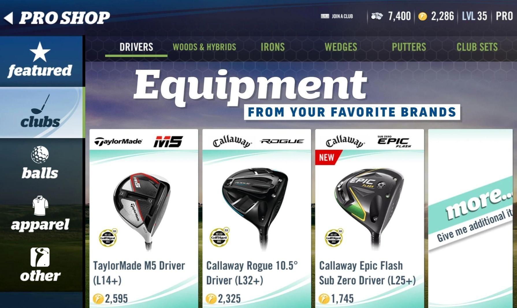 WGT Golf app