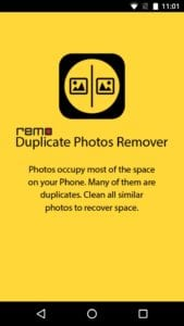 Remo Duplicate Photos Remover screen 1