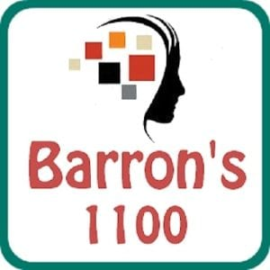 Barron's 1100 for GRE logo