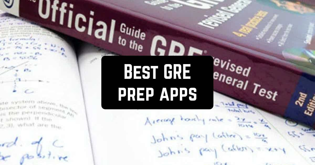 Best GRE prep apps