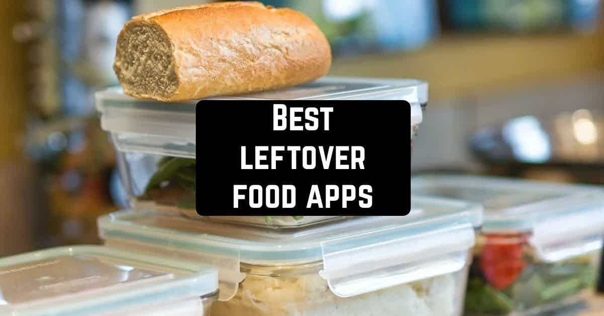 Best leftover food apps