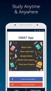 GMAT 2020 prep App-Aptitude Verbal Mock Test Paper screen 1
