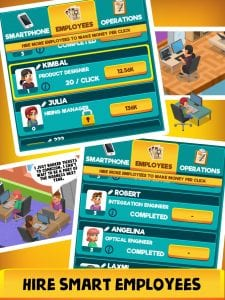 Idle Smartphone Tycoon screen 2