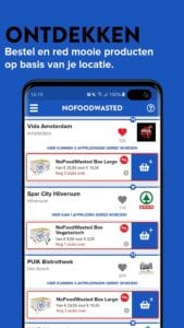NoFoodWasted screen 1
