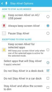 Stay Alive! screen 2