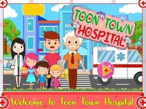 Toon Town screen 1