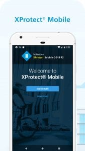 XProtect Essential+ screen 1