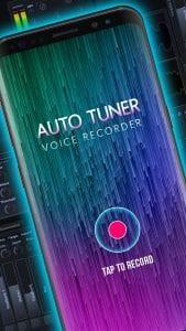 Auto Tuner Voice Recorder screen 1