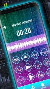 Auto Tuner Voice Recorder screen 2