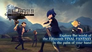 Final Fantasy XV Pocket Edition screen 1