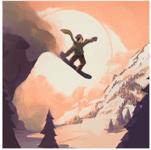 Grand Mountain Adventure Snowboard Premiere logo