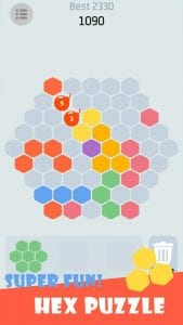 Hex Puzzle screen 1