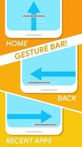Navigation Gestures screen 2