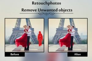 Retouch Photos screen 1