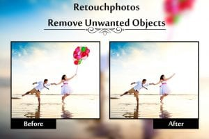 Retouch Photos screen 2