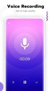 Super Voice Editor screen 1