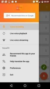 VoiceFX screen 2