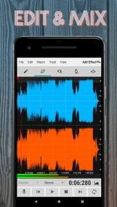 WaveEditor screen 1