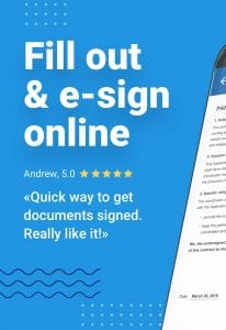 SignNow screen 1