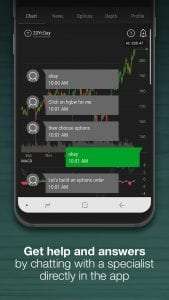 Thinkorswim Mobile screen 2