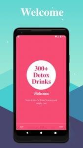 300+ Easy & Healthy Detox Cleansing Drinks screen 1