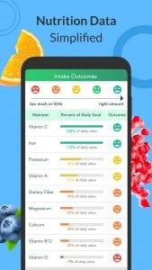 Calorie Counter screen 2