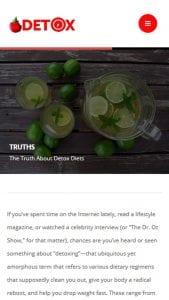 Detox Diet screen 2