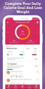 Diety screen 1