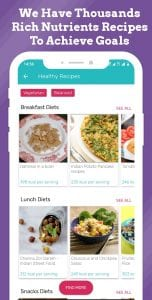 Diety screen 2