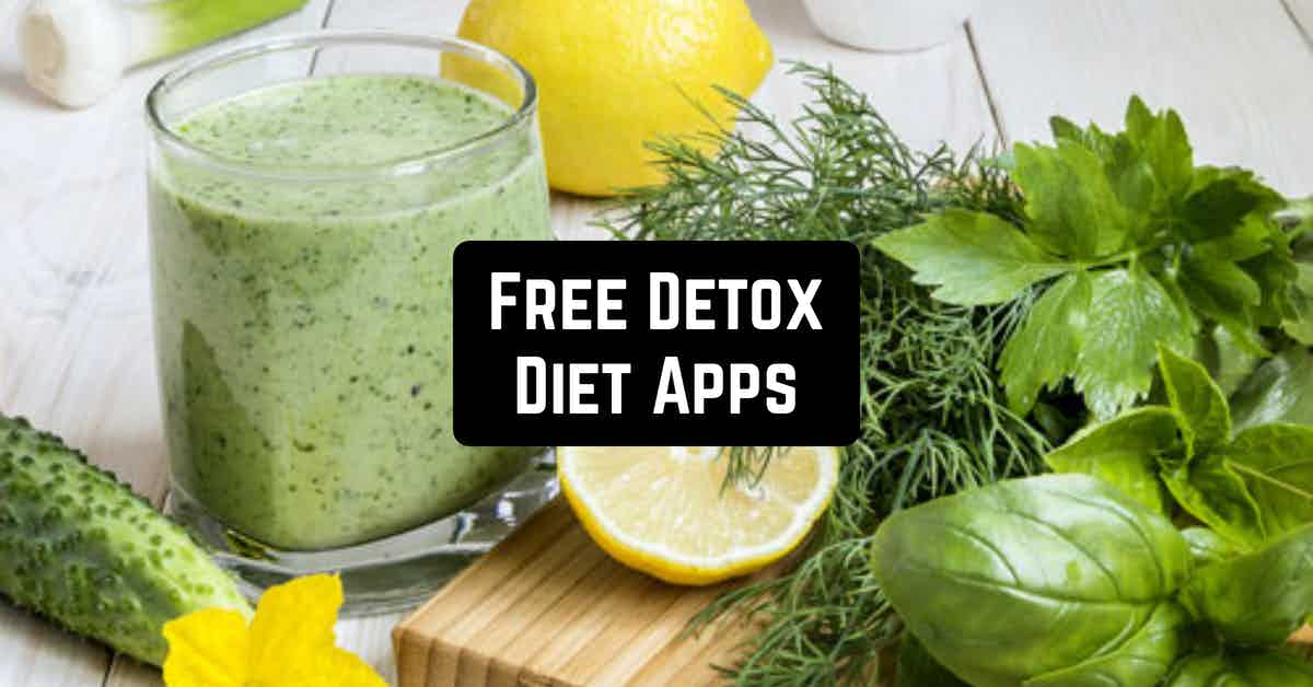 Free Detox Diet Apps
