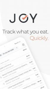 Joy Health Tracker screen 1