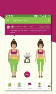 My Diet Coach screen 1