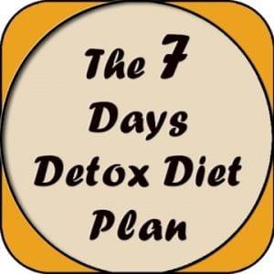 The 7 Days Detox Diet Plan logo