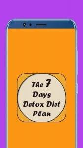The 7 Days Detox Diet Plan logo screen 1