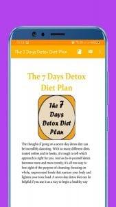 The 7 Days Detox Diet Plan logo screen 2