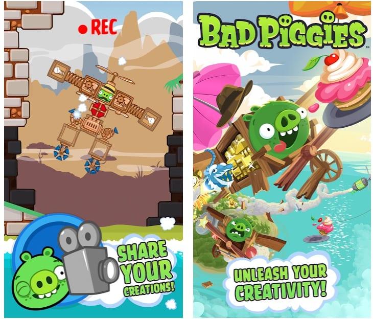 Bad Piggies app