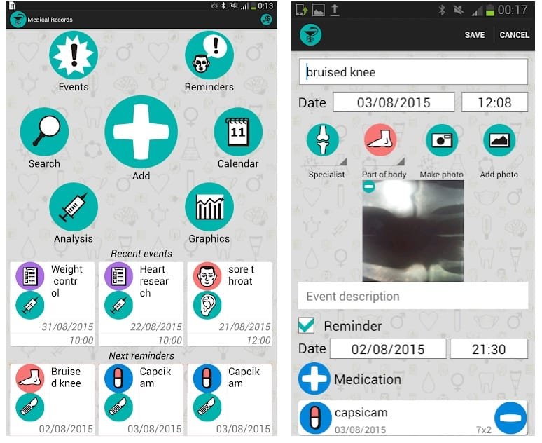 EHR : EMR Health records