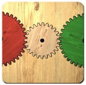 Gears logic puzzles logo