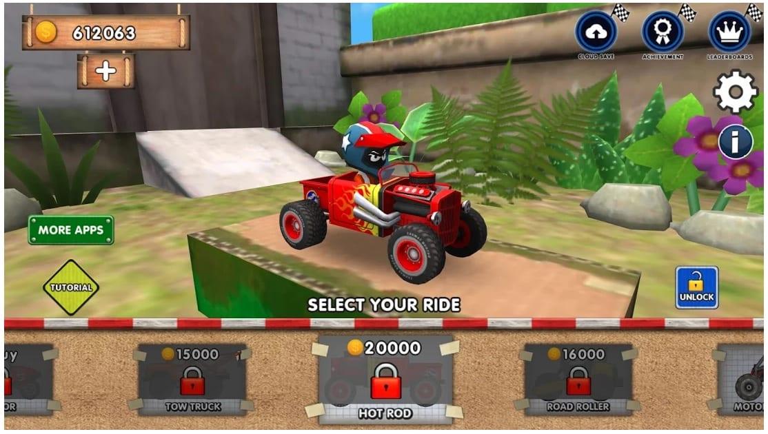 Mini Racing Adventures app
